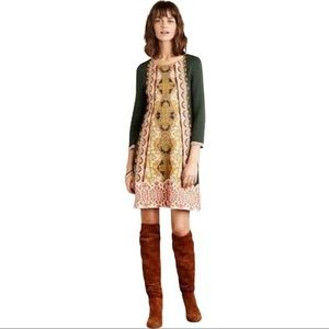 Knitted & Knotted Anthro Lanka Sweater Dress Beads